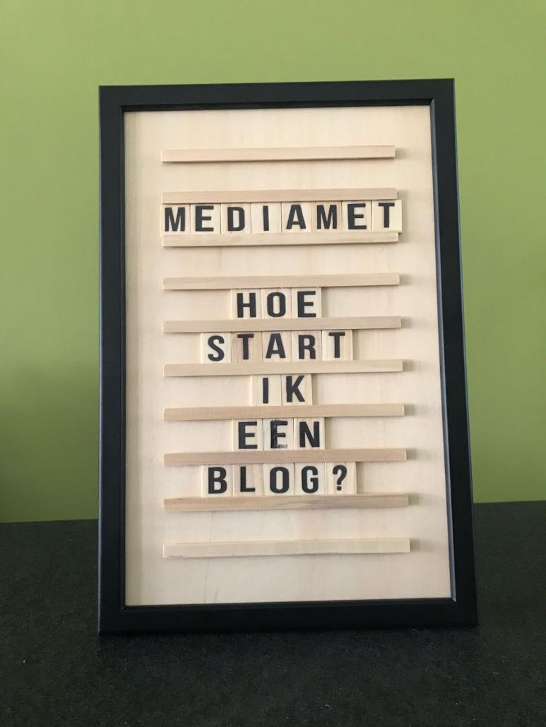 Hoe start ik een blog?