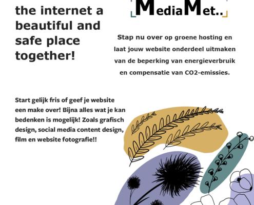 Instagram groene hosting advertentie